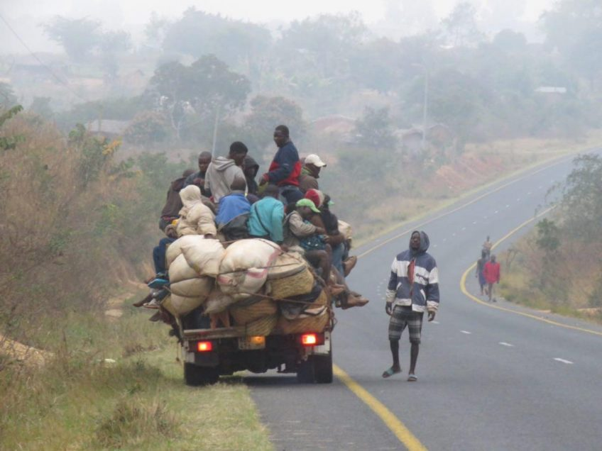 راه های شمال کشور آفریقایی موزامبیک